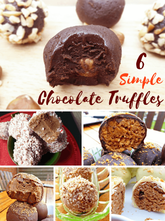 6 Beyond Simple No Bake Chocolate Truffles