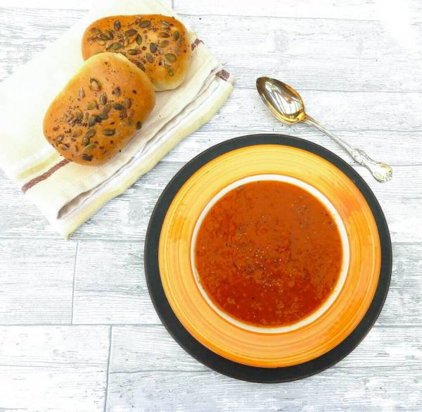 Sweet Potato, Leek and Garlic Soup