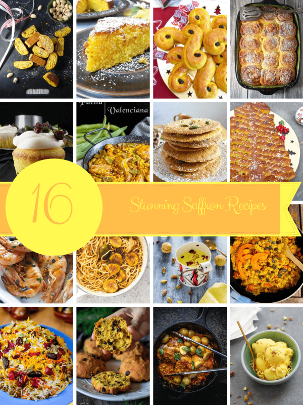 16 Stunning Saffron Recipes