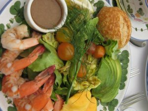 The Ivy Shrimp Salad