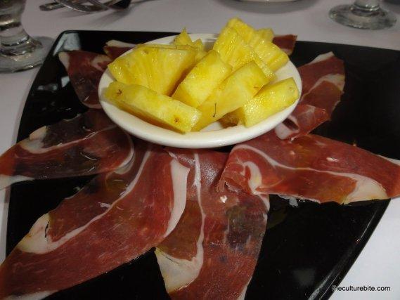 El Patio Espanol Serano Ham And Pineapple » TheCultureBite