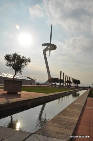 Barcelona Olympic Flame