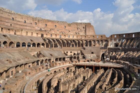 Rome Colosseum Inside