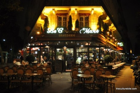 Paris Champ de Mars Cafe
