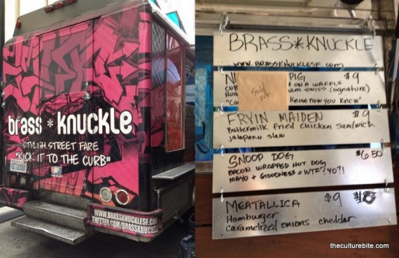 Brass Knuckle Food Truck