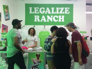 Eric Andre ranch pop-up NYC photos