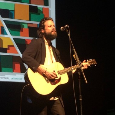 "Father John Misty Shares Trump-Era Song ""Holy Hell"", Working on Gambles Next Record"