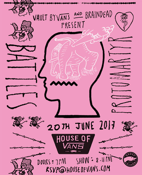 House of Vans Brain Dead RSVP