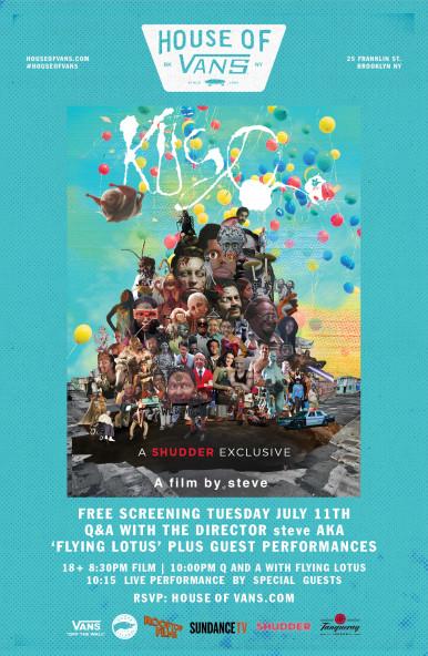 Flying Lotus Kuso Screening Rooftop Films House of Vans