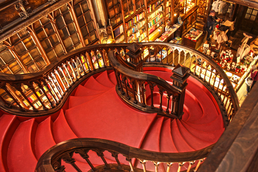 Livraria Lello bookshop, Porto
