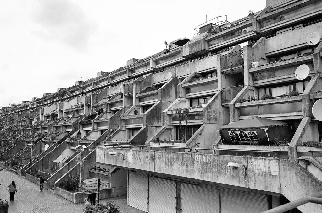 Alexandra Road Estate - Where to find brutalist architecture in London