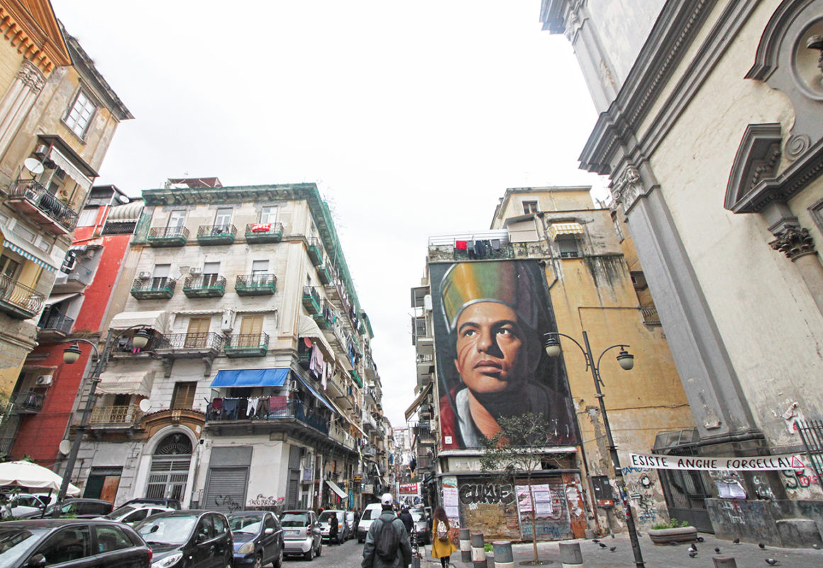 San Gennaro street art in Naples by Jorit Agoch - Things to see and do in Naples