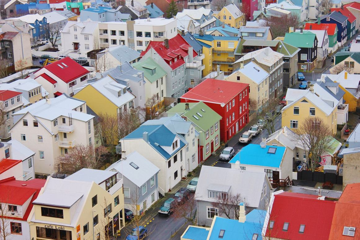 Reykjavik, Iceland - Most colourful towns and cities in Scandinavia
