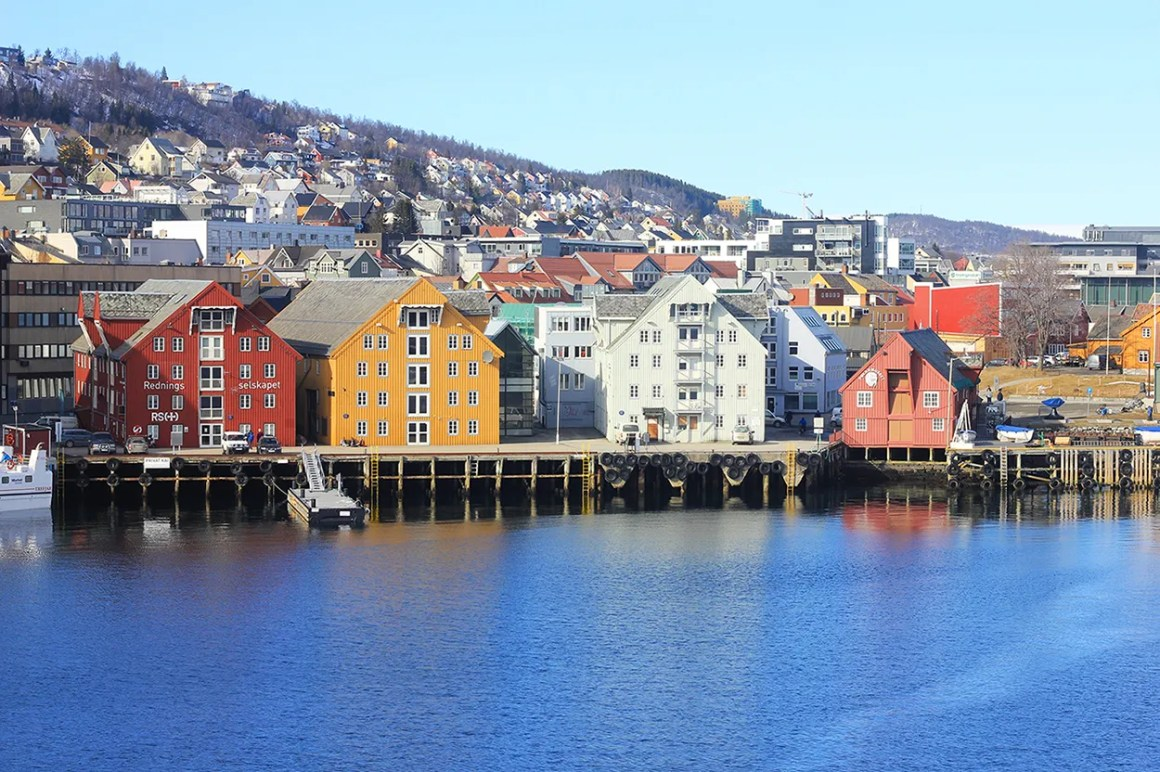 Tromso, Norway - most colourful cities and towns in Scandinavia