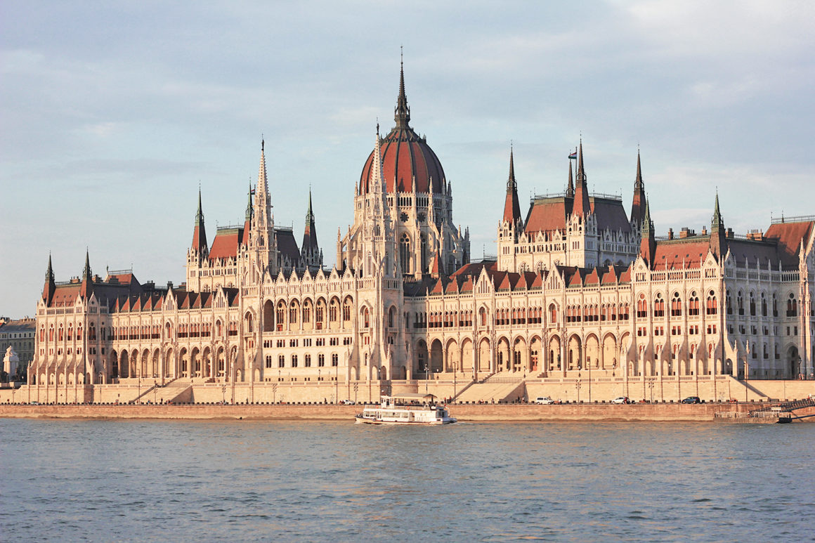Parliament building in Budapest - 3 day itinerary
