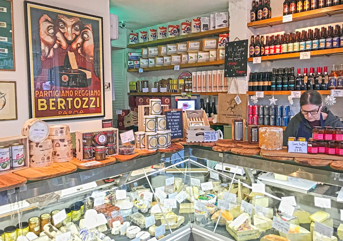 The Cheeseboard cheese shop in Greenwich, London