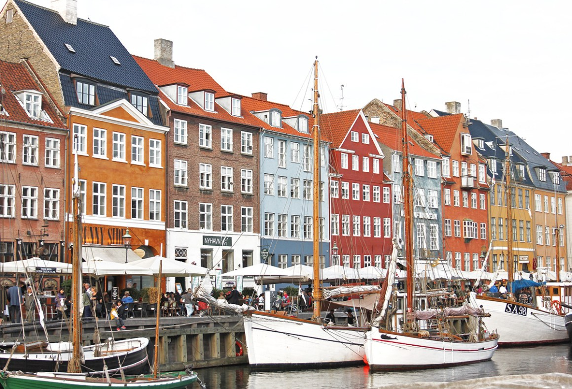 Copenhagen - colourful towns and cities in Scandinavia