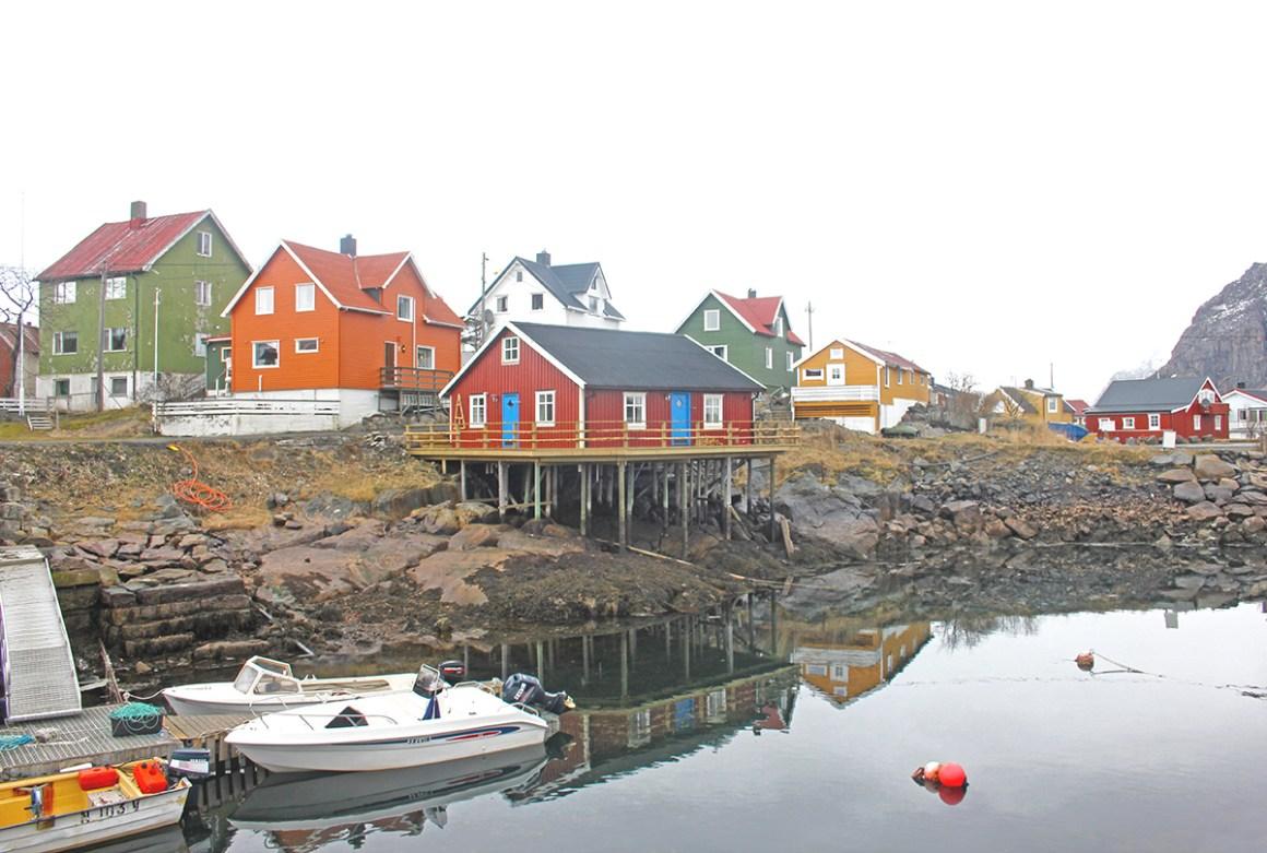 Henningsvær, Lofoten Islands - most colourful towns and cities in Scandinavia