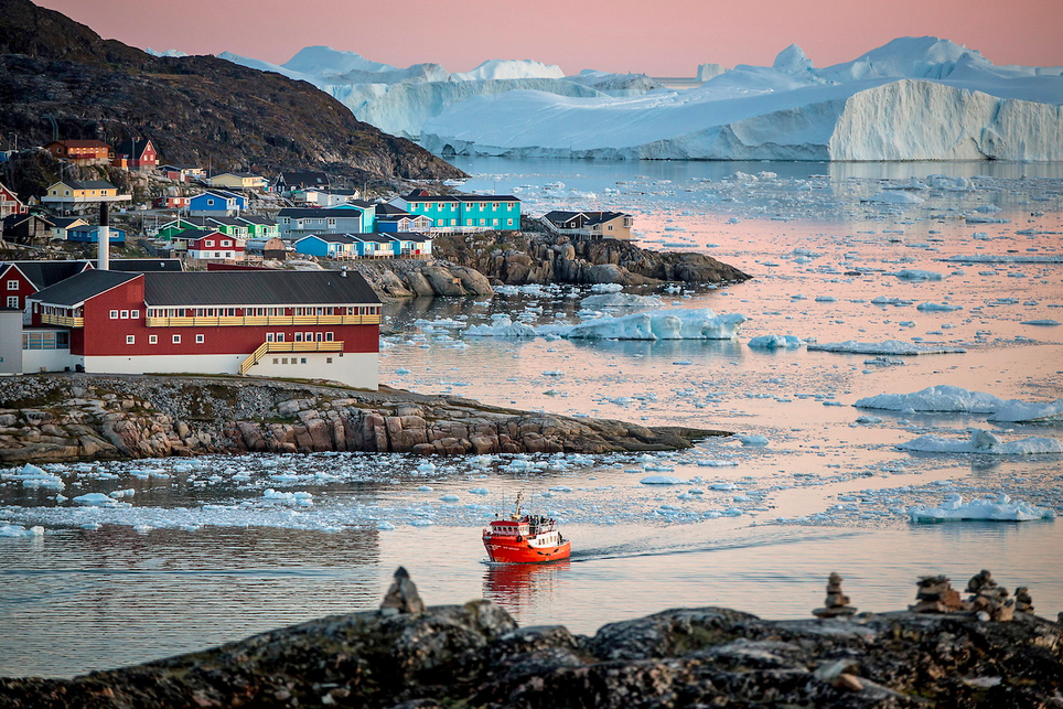 Ilulissat, Greenland - Colourful towns and cities in Scandinavia