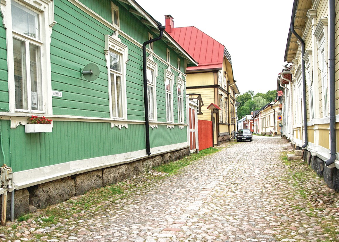 Rauma, Finland - the most colourful towns and cities in Scandinavia