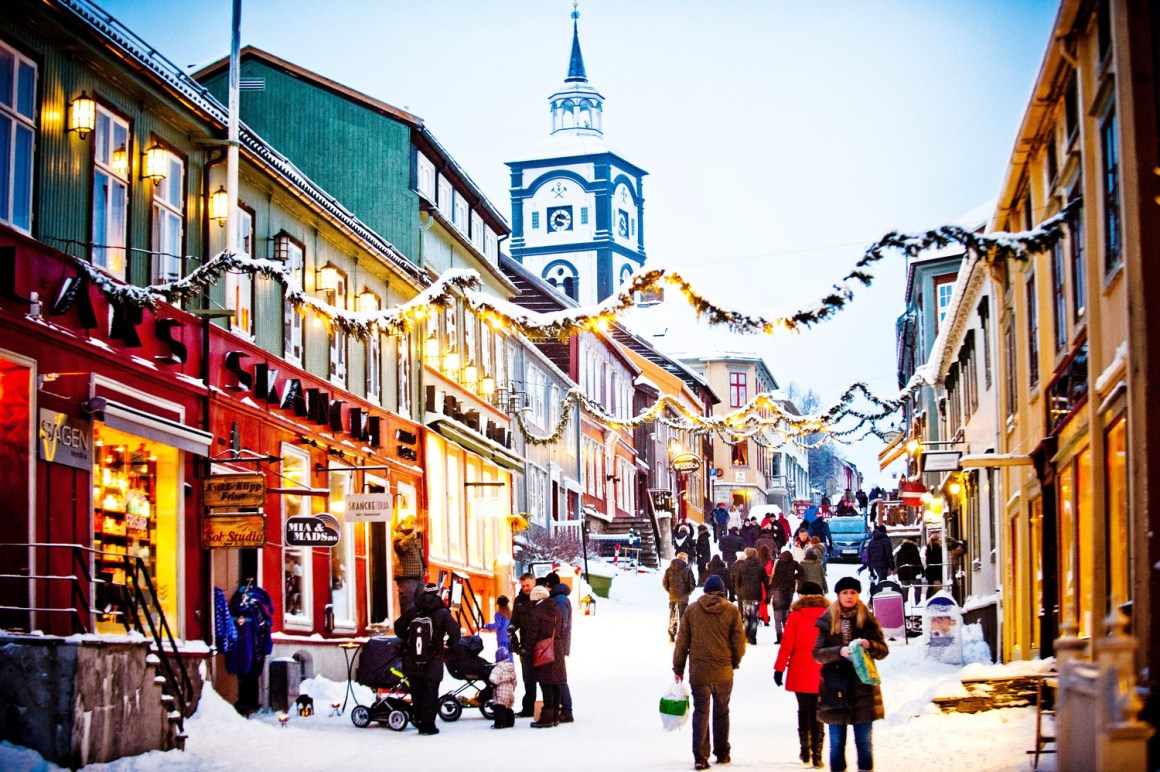 Roros, Norway - Most colourful towns and cities in Scandinavia