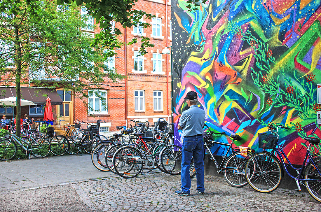 Street art in Malmo - where to find it.