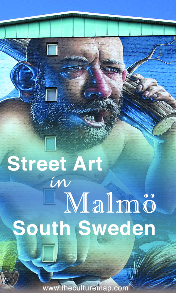 Street art in Malmö - Where to find huge wall murals in Sweden's 3rd largest city.