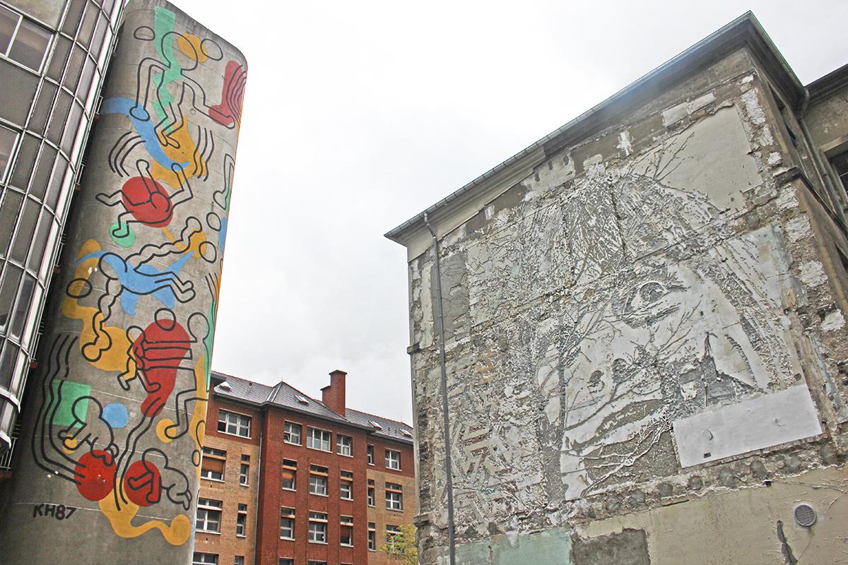 Keith Haring Paris Street Art Mural The Culture Map