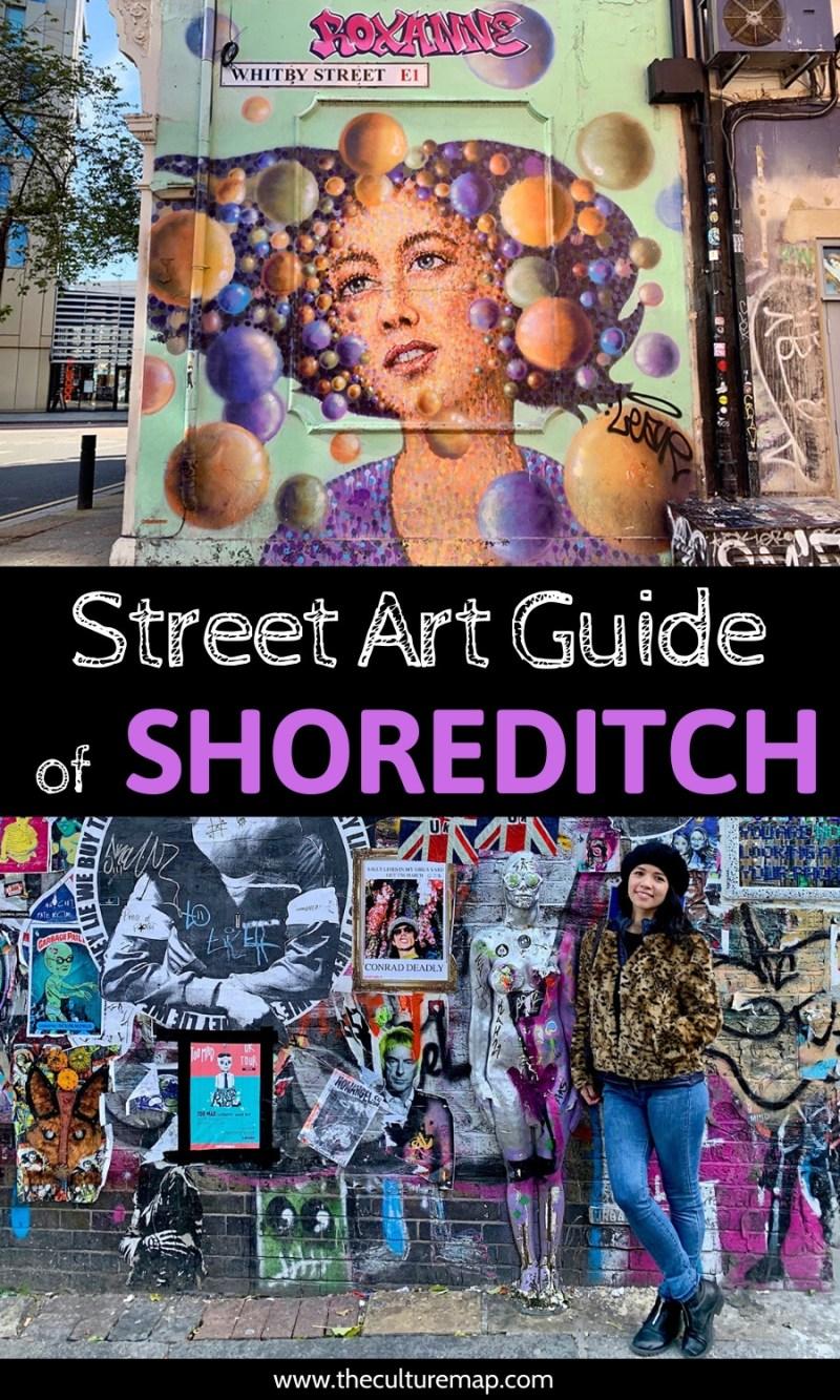 London Map Shoreditch Area: Street Art Guide Of Shoreditch, London