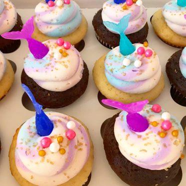 magical mermaid cupcakes