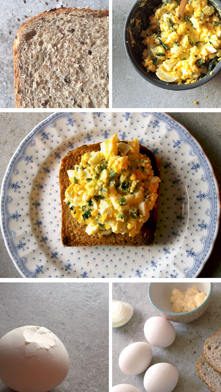 Egg Salad Toast