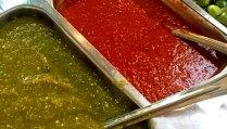 Salsa roja, Salsa verde