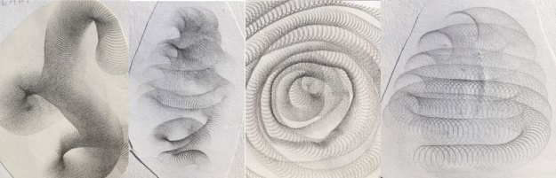 pencil drawings using a whisk