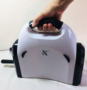 The X-cut XPress neatly folded