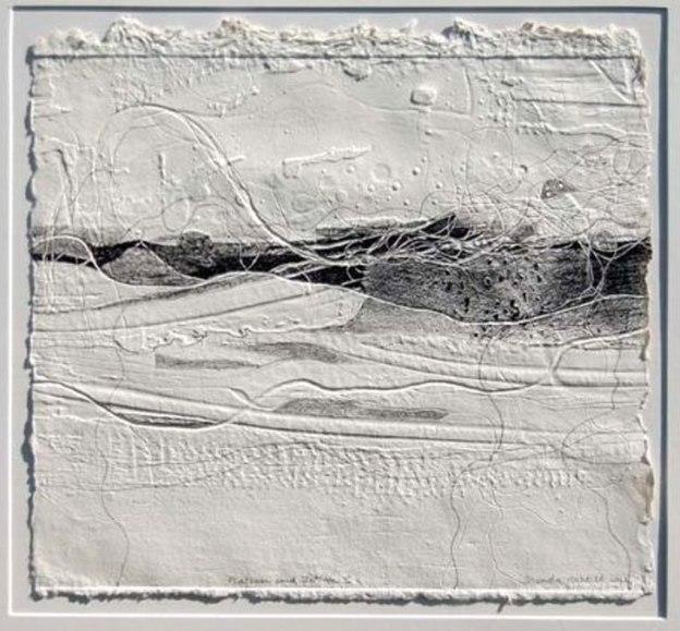 Brenda Harthill embossed print