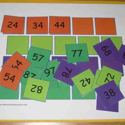 Skip Counting Practice Mats