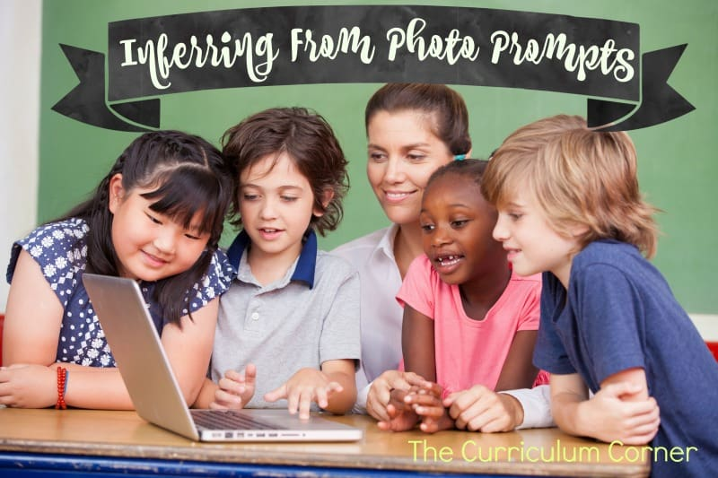 Use these inferencing photosduring your reading workshop mini-lessons or small groups.
