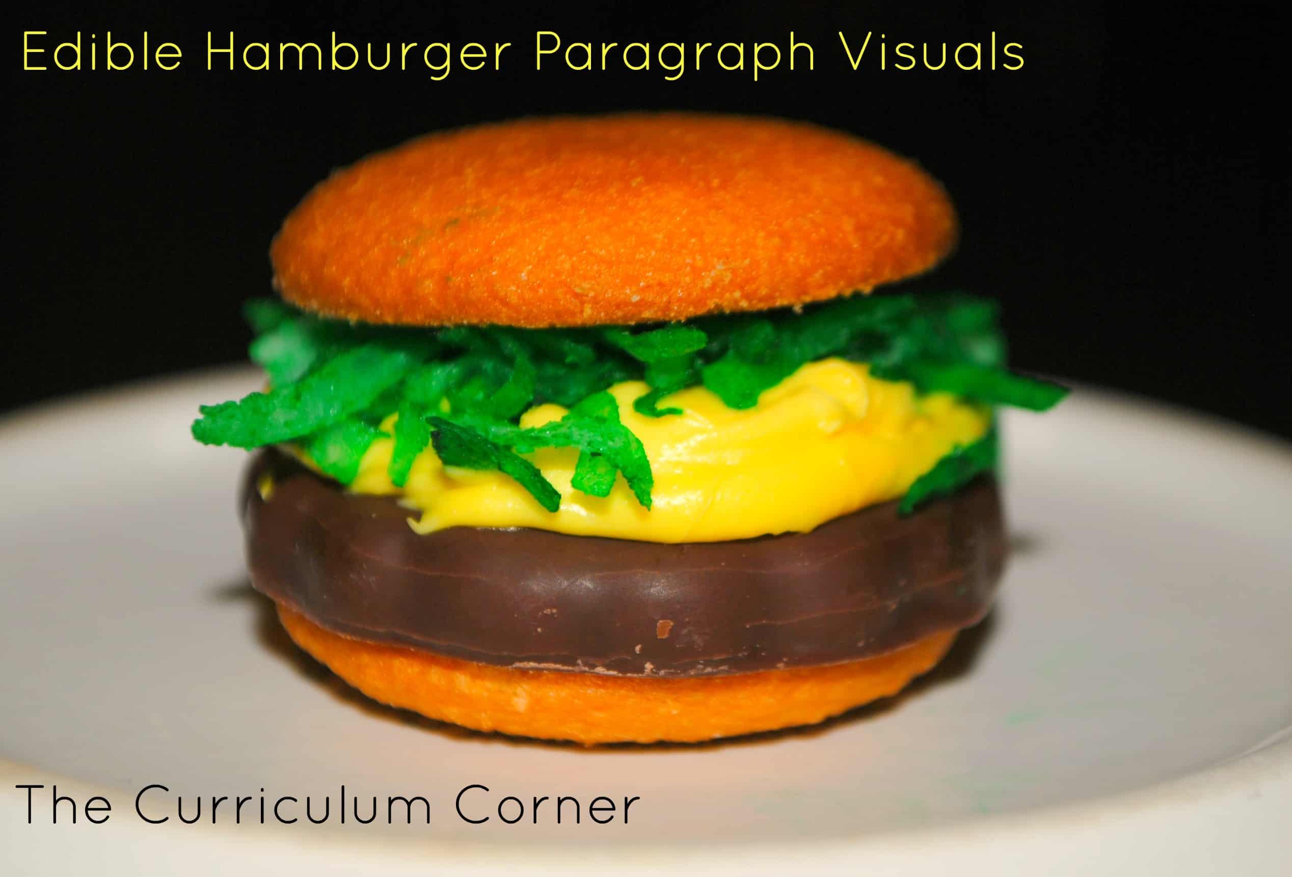 Hamburger Paragraphs The Curriculum Corner 123