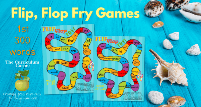 fry word games