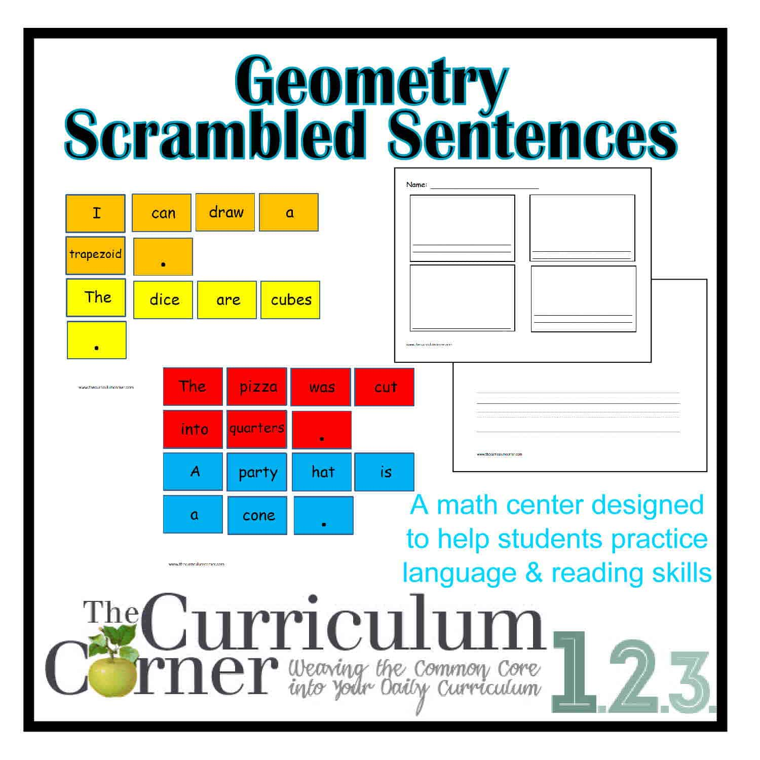 Grade 2 Jumbled Sentences Worksheet