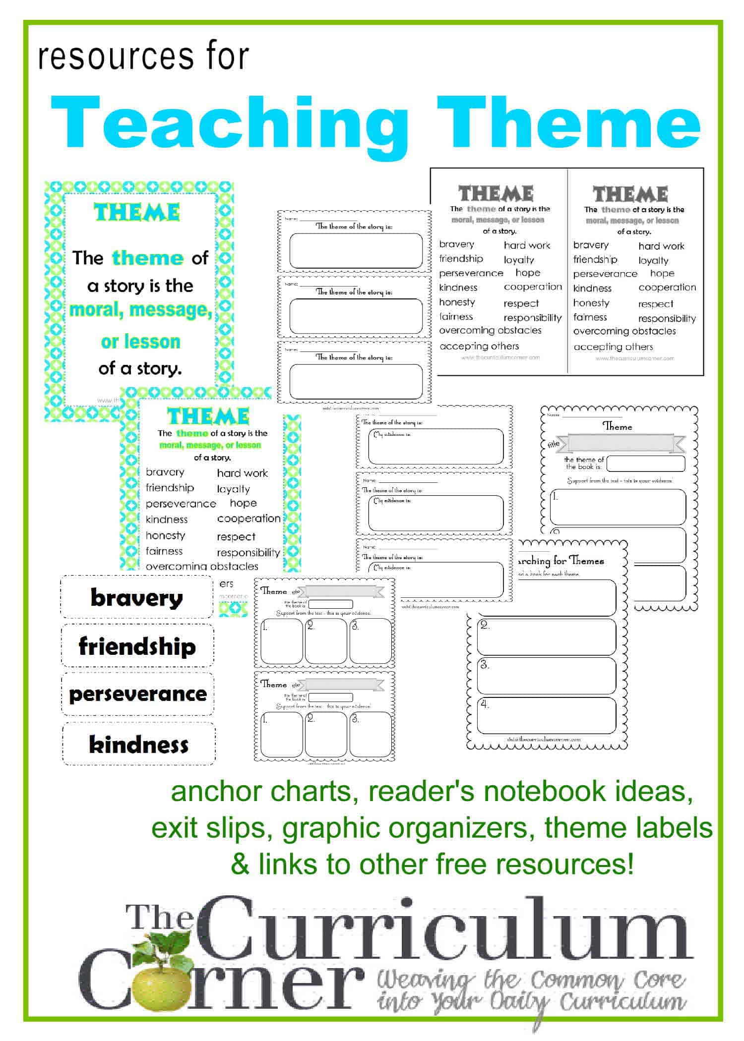 Finding The Theme Of A Story Worksheets Letravideoclip – Worksheets on Theme