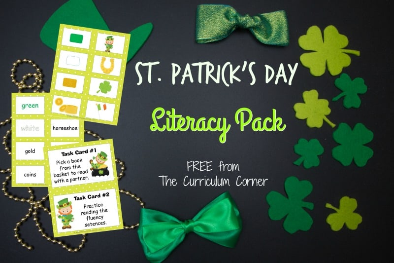 Use this St. Patrick's Day word work collection for free seasonal word work practice in your classroom.