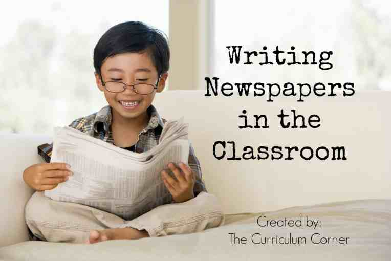 If you are ready to focus on writing newspapers in the classroom, be sure to start by looking at our collection of free lessons for the classroom.
