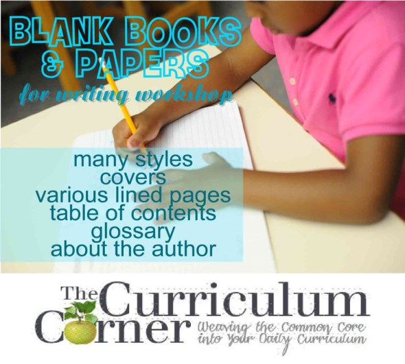 Use these blank books for your writing workshop. Includes an assortment of free books and lined papers for the classroom.