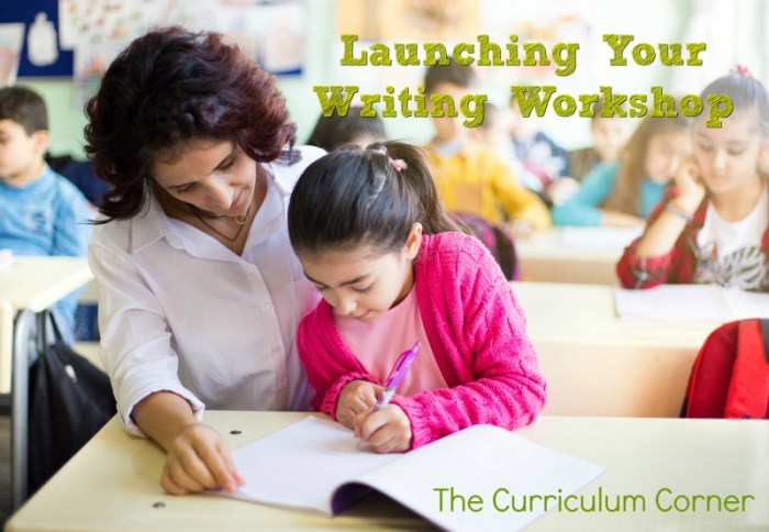 Launching Writing Workshop