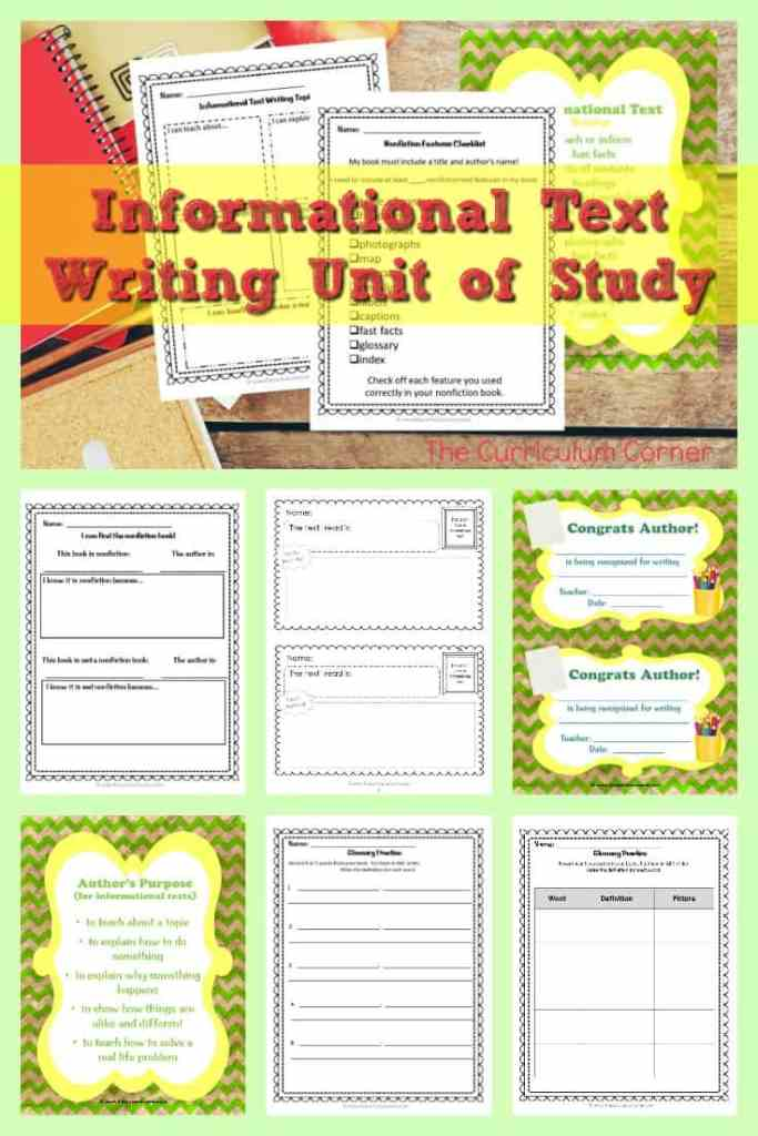 informational text pinterest