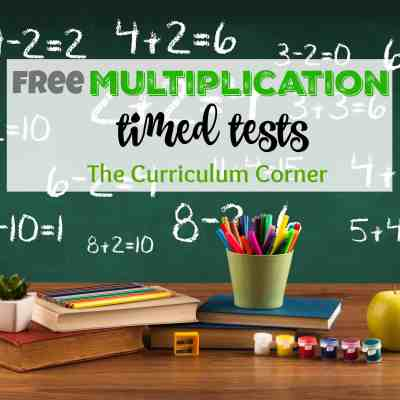 *Updated* Multiplication Timed Tests