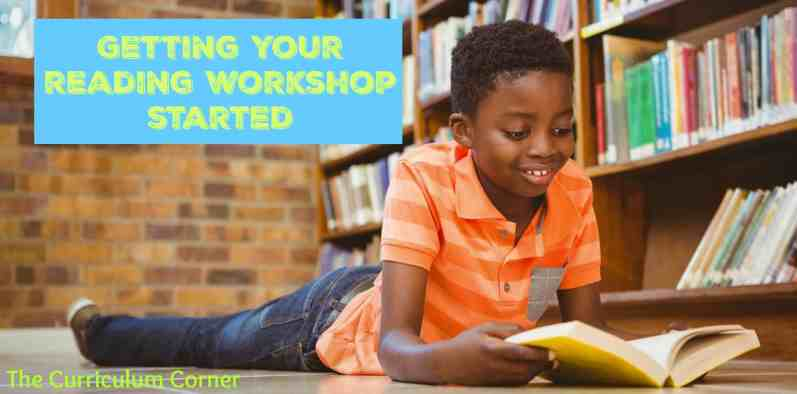 Launching reading workshop unit of study plus LOTS more! FREE from The Curriculum Corner