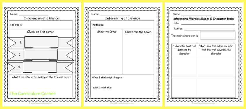 FREE Inferencing Activities Collection by The Curriculum Corner 6