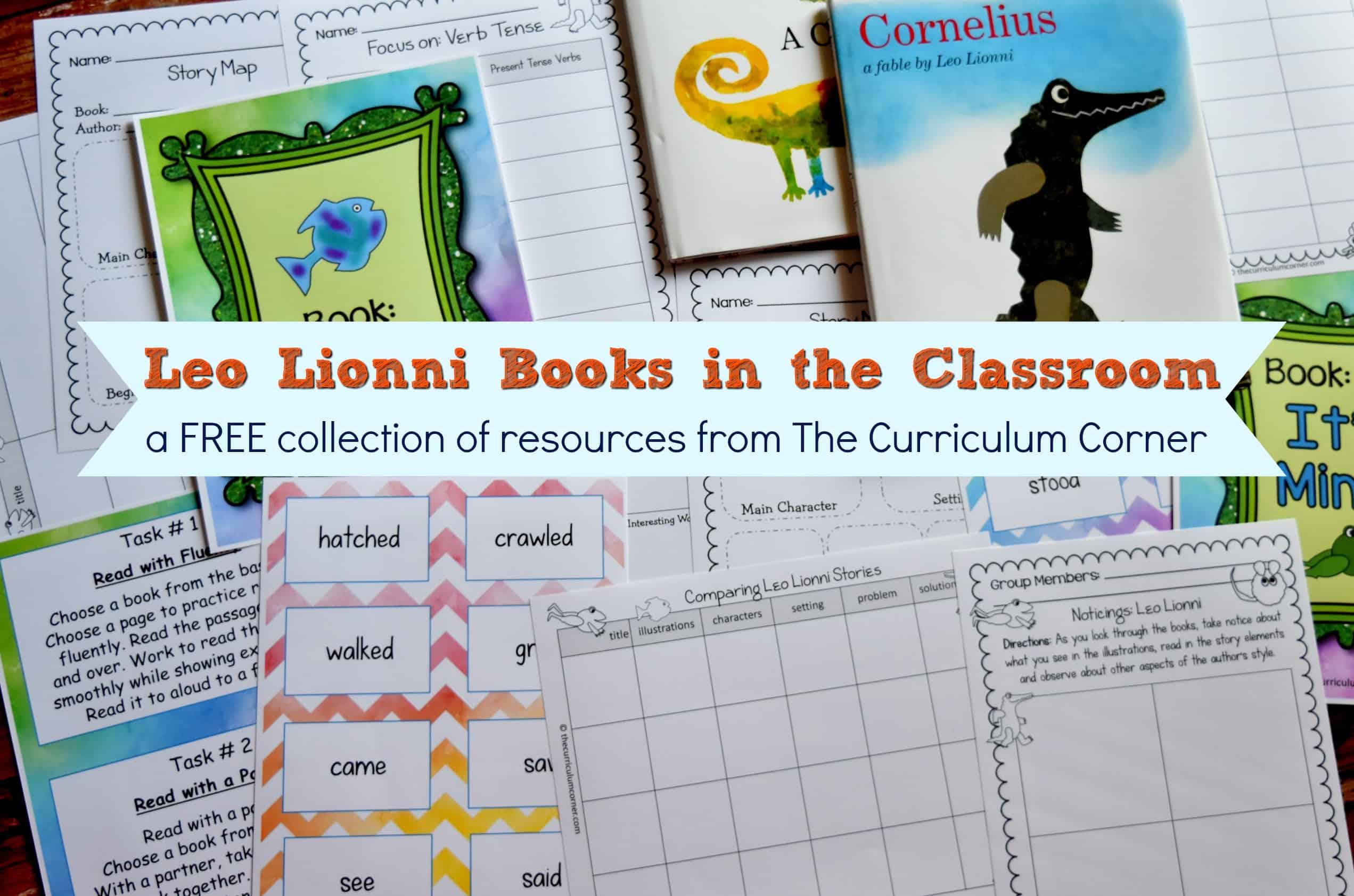 Leo Lionni Books In The Classroom